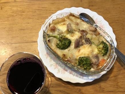 11072018 Dinner グラタン S