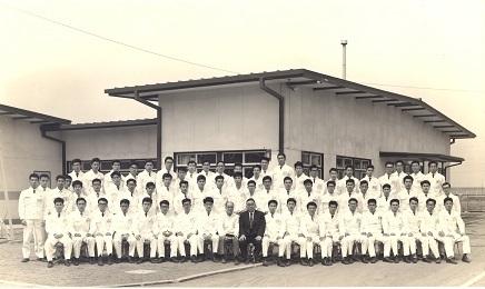 1964年4月1日入社式 S