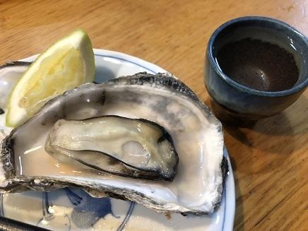12162018 晩酌 蒸し牡蛎 S2