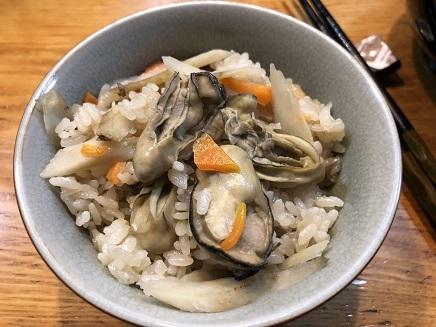 12172018 Dinner 牡蛎飯 S2