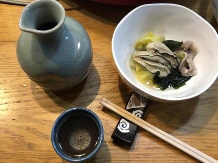 12202018 Dinner 牡蛎鍋 晩酌 S3