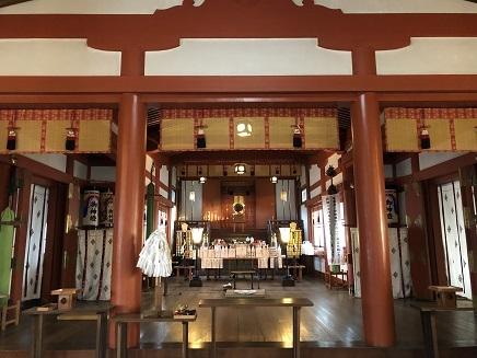 1022019 亀山神社社殿内 S7