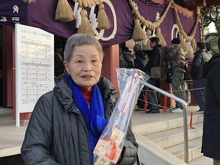 1022019 亀山神社初詣終えてKyo鏑矢 S10