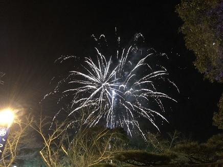 1062019 ミロクの里イルミ 花火 S10