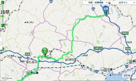 1082019 尾道道世羅ICからフライトロード経由帰宅 S3