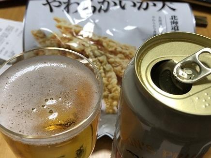 1202019 晩酌ビール S1