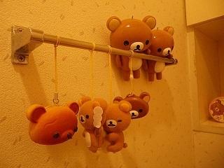 トイレのクマジ達