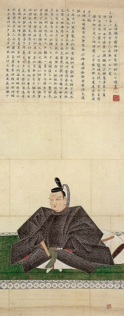 徳川光圀像(狩野常信画、水戸徳川博物館蔵)
