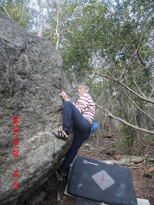 ピラミッド岩C課題 Sコーチ