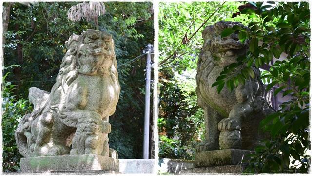 大胡神社・狛犬