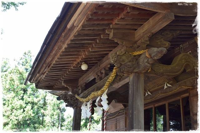 大胡神社・拝殿