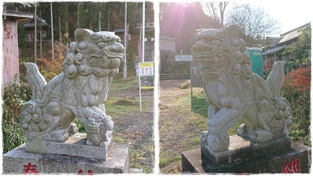 御嶽神社・狛犬