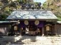 金ケ崎宮拝殿