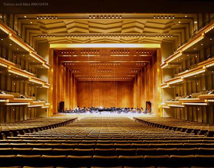 Avery Fisher Hall (David Geffen Hall) ⒸAkira KINOSHITA