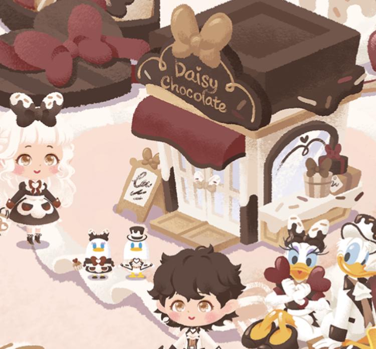 チョコレートカフェ~アイテム一覧(リトルドール)~