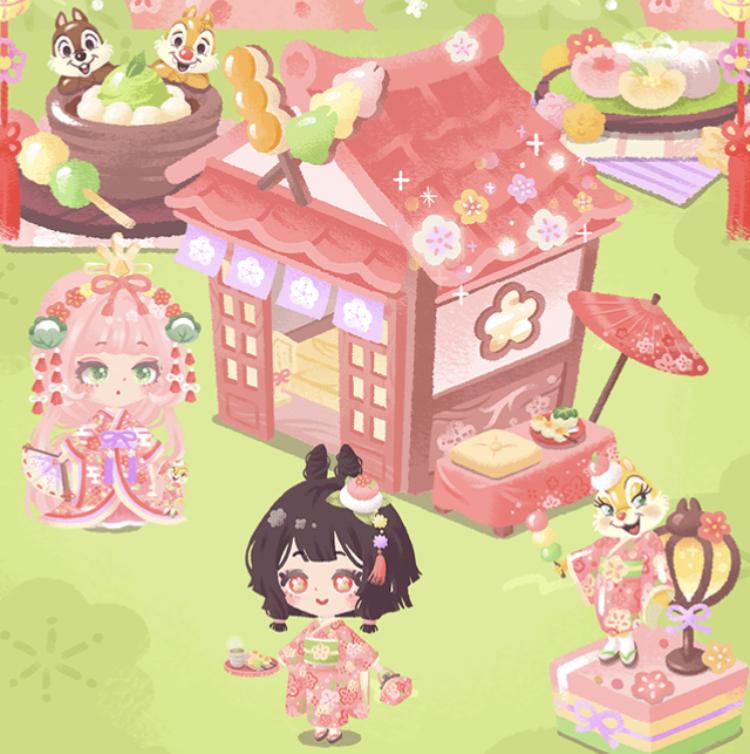 和菓子のひな祭り(ガチャ)~アイテム一覧リトルドール~