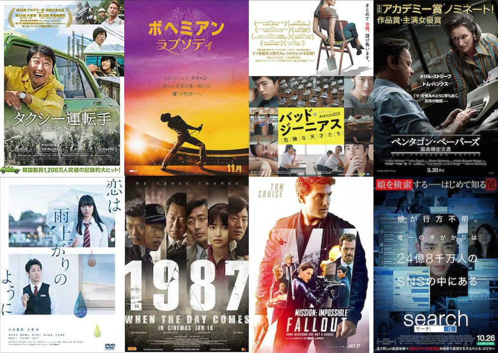 2018年に見た映画