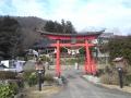 三吉神社入り口