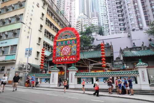 お寺とマンション