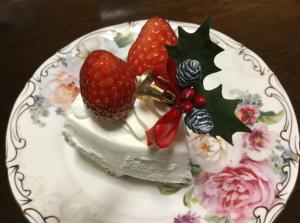 2018クリスマスケーキ一個分
