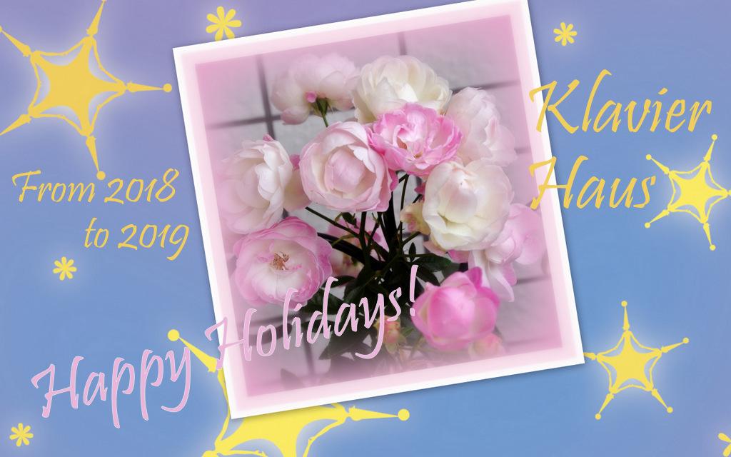冬のバラPink Mothersday