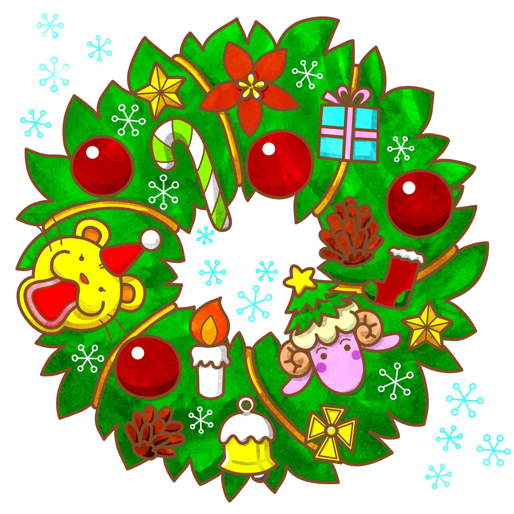 もんもとうるるんのクリスマス2018