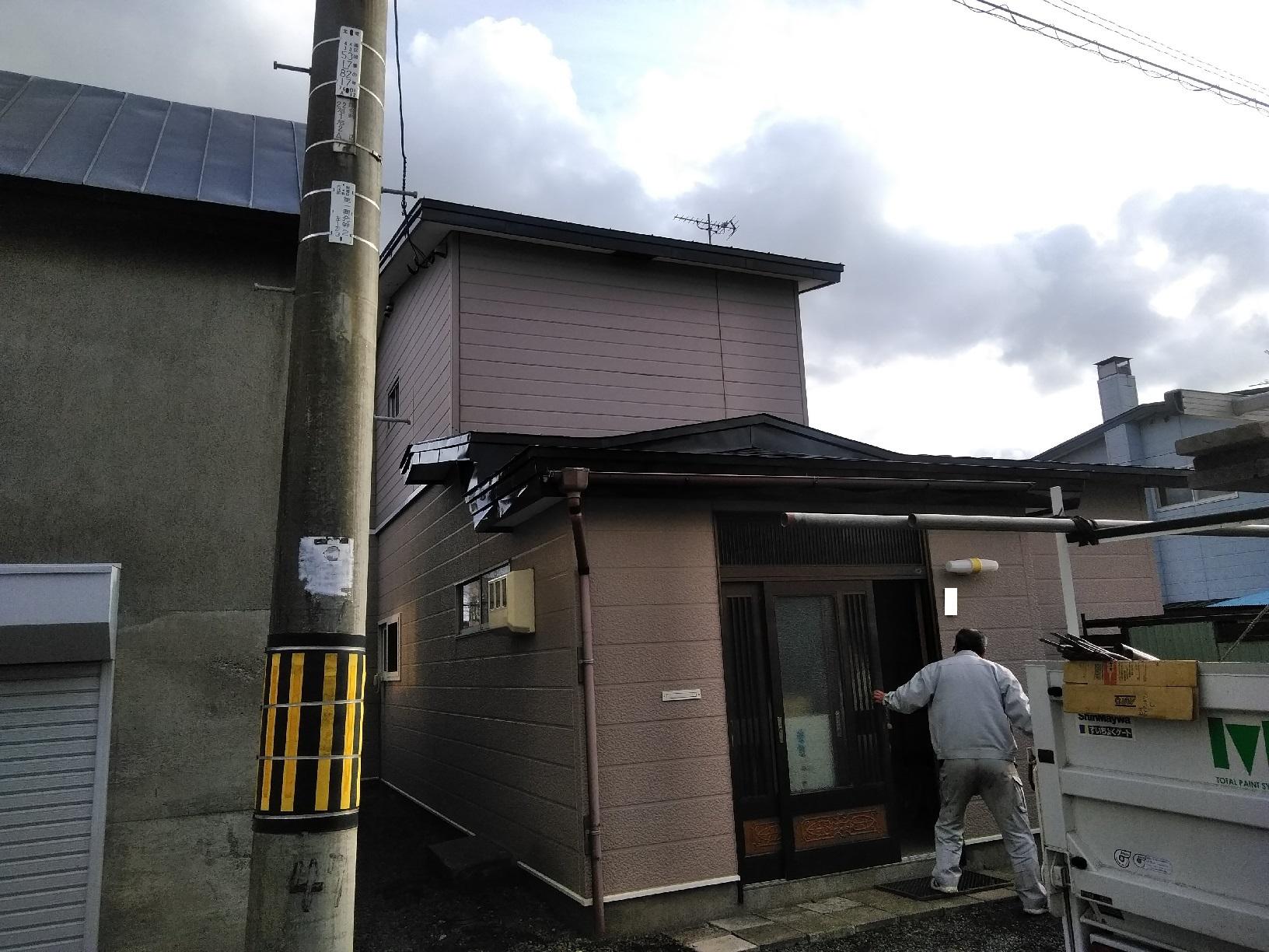 武藤塗装応援 興津 工事完了