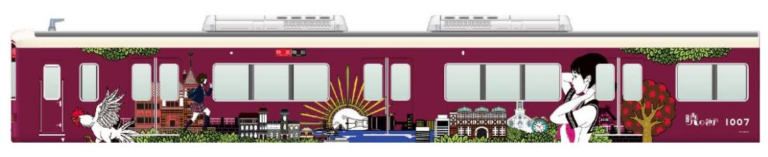 20181116阪急電車ラッピング