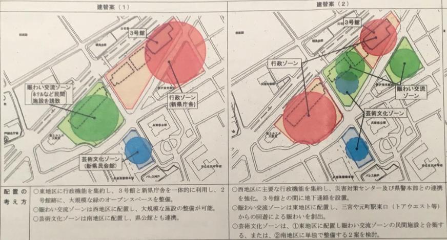 20181129兵庫県庁舎建て替え案