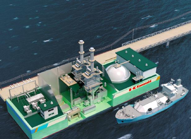 20181204川重LNG発電船