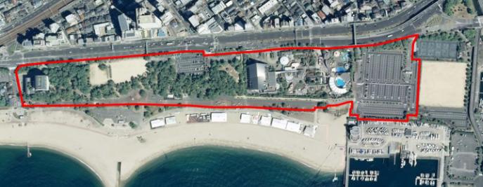 20181222海浜公園の再整備範囲