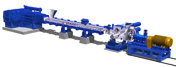 20190123神戸製鋼ポリプロピレン向け大型混練造粒装置