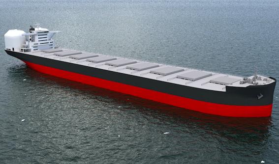 20190128川重LNGばら積み船