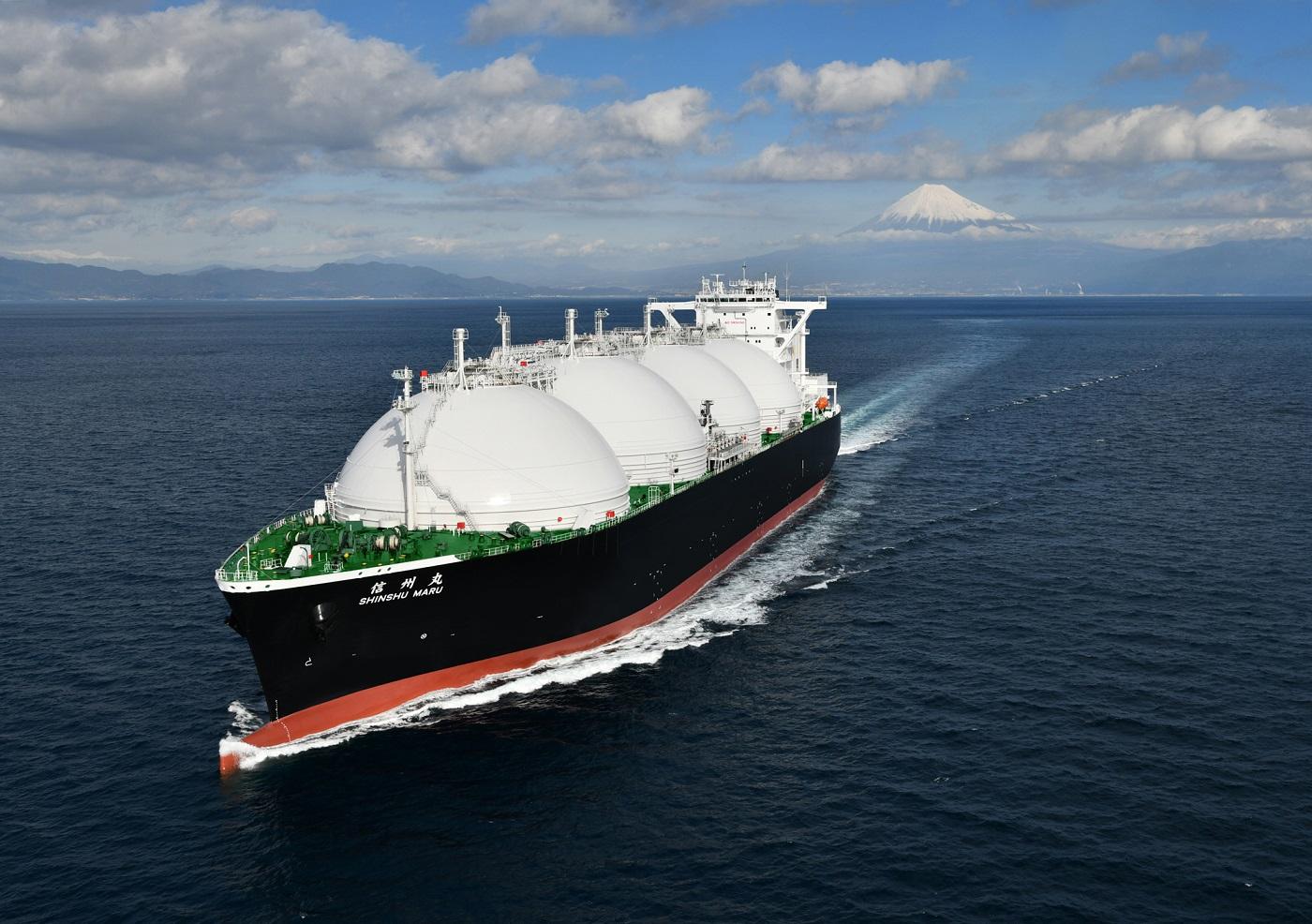 20190215川重LNG運搬船SHINSHUMARU