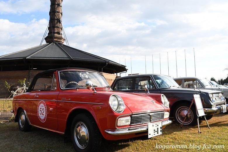 煉瓦窯でクラシックカー2