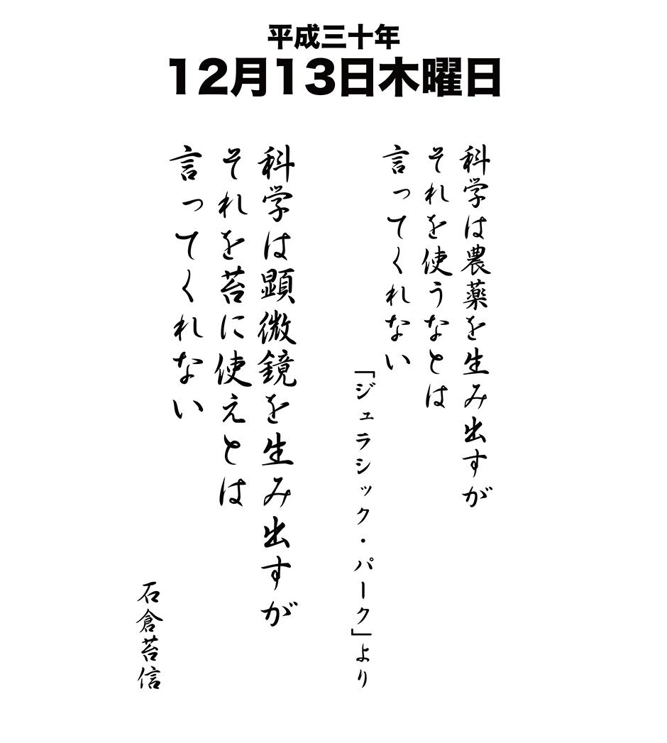 平成30年12月13日