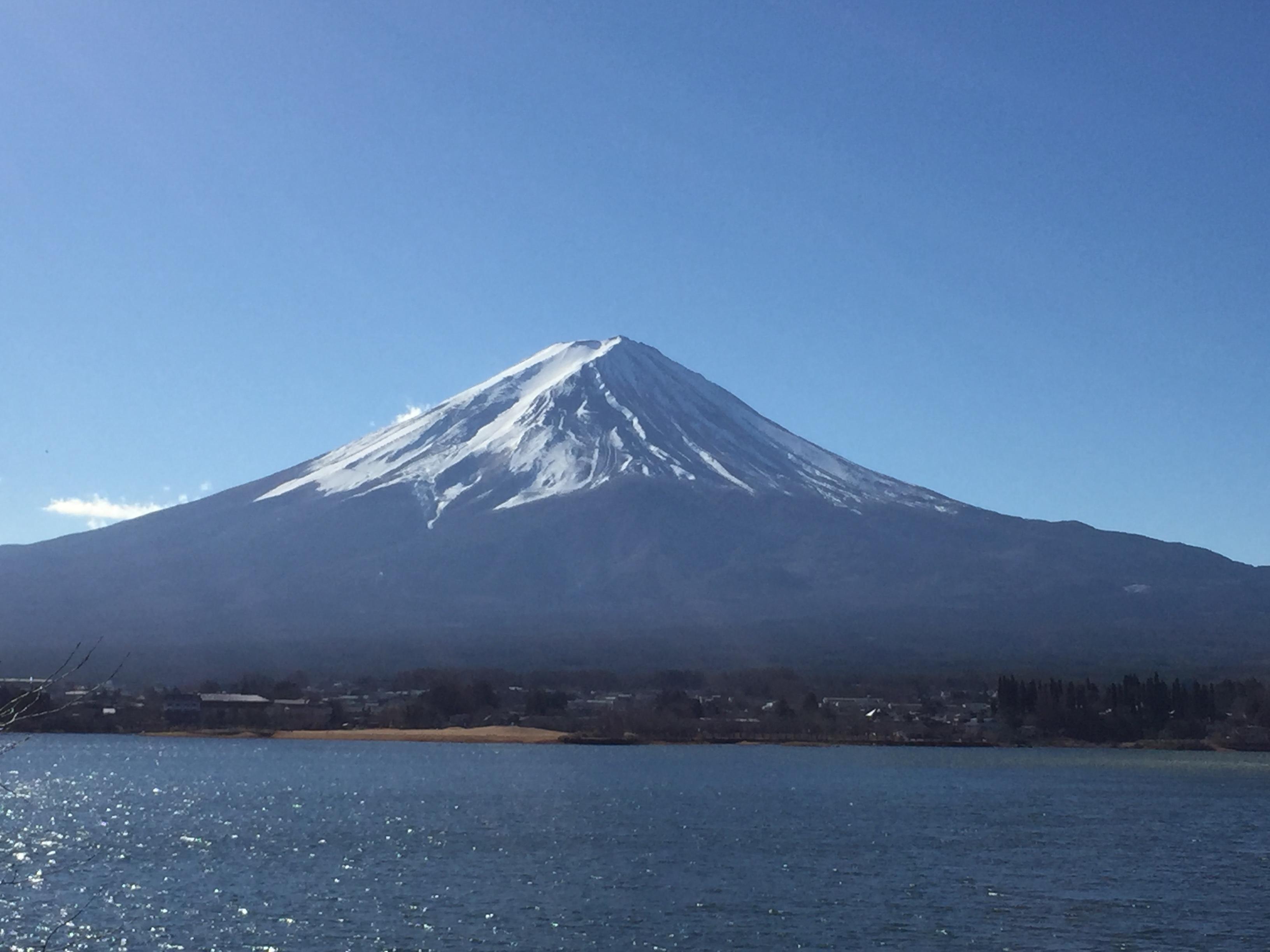 2019.1富士雪少な目