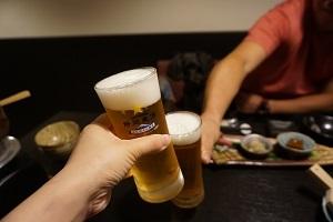 静岡限定生ビールで乾杯