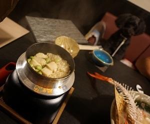 ホタテと枝豆のご飯