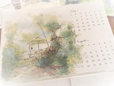 AiiroKubou2019年カレンダー (2)