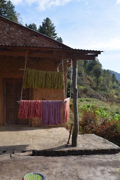 カラフル糸
