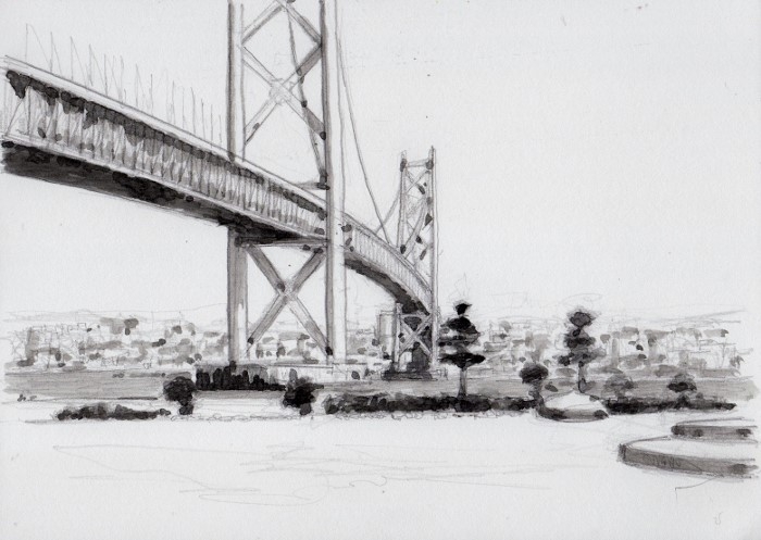 明石大橋 グリザイユ (700x497)