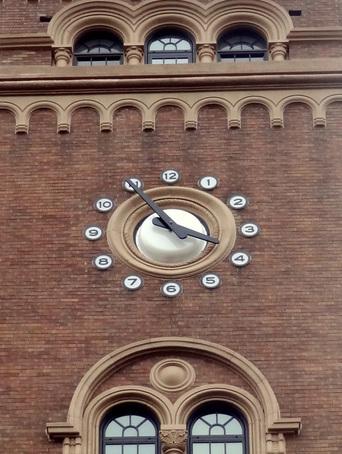 一橋大学図書館の時計塔