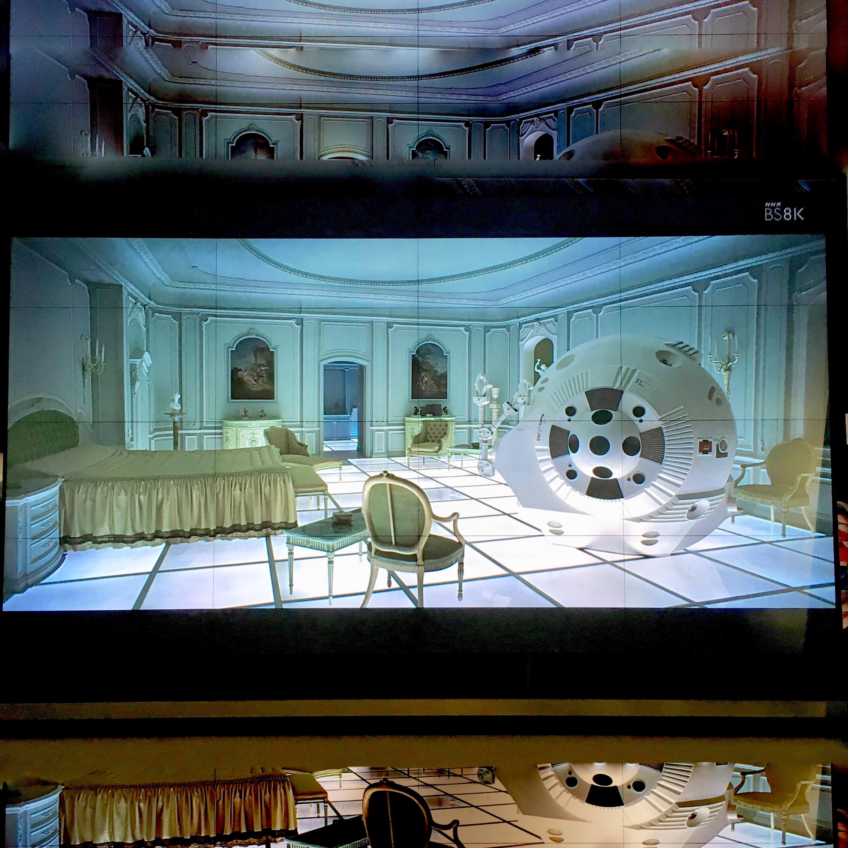 「2001年宇宙の旅」8K 宇宙初オンエアに大感謝(^^)