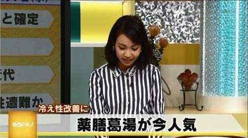 20181107奈良テレビ薬膳葛湯当帰葉5