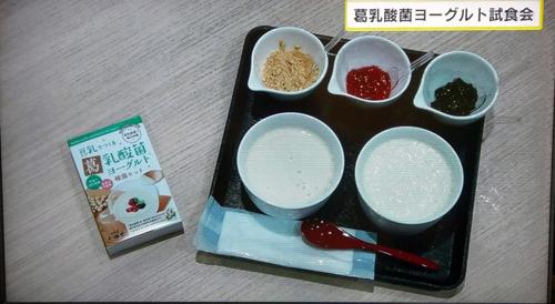 2019013006葛乳酸菌豆乳ヨーグルト種菌セット奈良テレビゆうドキ