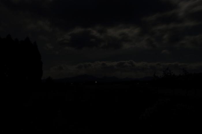 夜間撮影(そのまま)