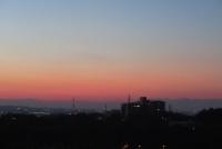 夕焼け、日の入り