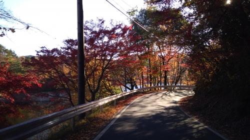 三河湖の紅葉 2018