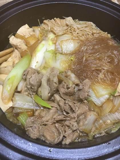 豚肉のすき焼き煮